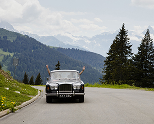 The Jewel of Gstaad II, with a Belle-vue June